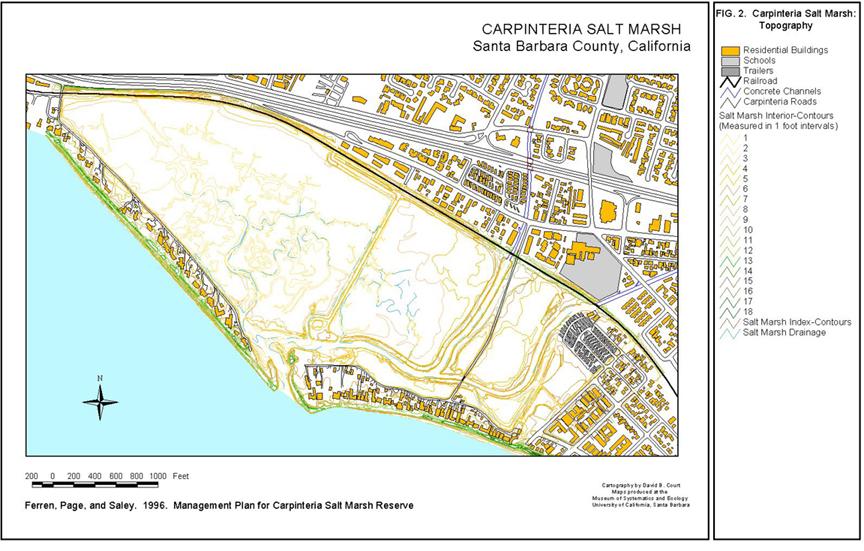 Carpinteria Salt Marsh Reserve University Of California Natural